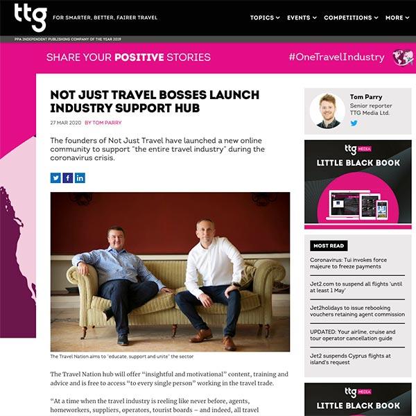 TTG and Steve Witt